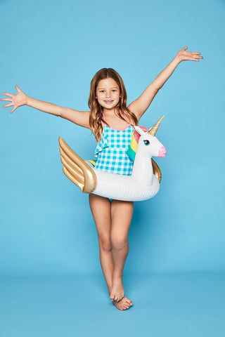 SUNNYLIFE Kiddy Float - Unicorn Pool Accessories | Unicorn| Sunnylife Kiddy Float - Unicorn On Kids  View