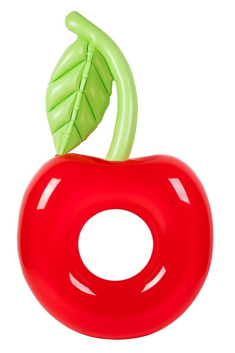SUNNYLIFE Pool Ring - Cherry Pool Accessories | Cherry| Sunnylife Pool Ring - Cherry Front View