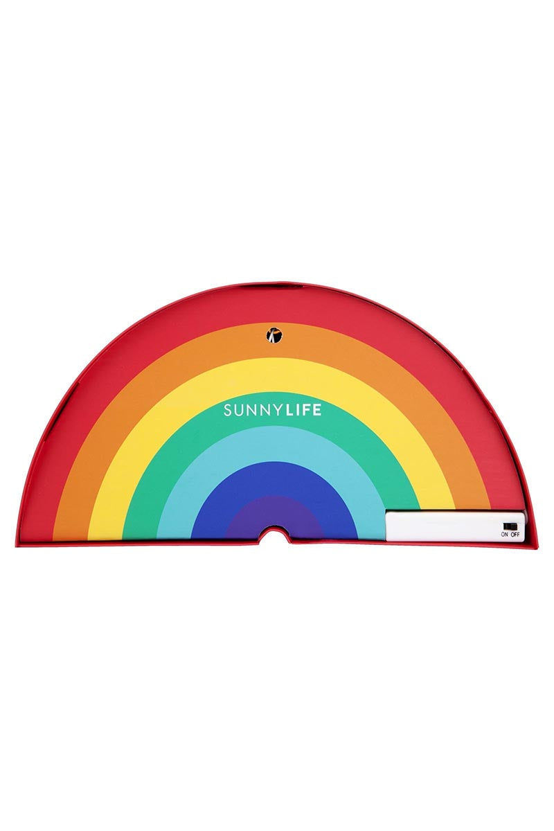 SUNNYLIFE Rainbow Marquee Light Accessories | Rainbow Marquee Light