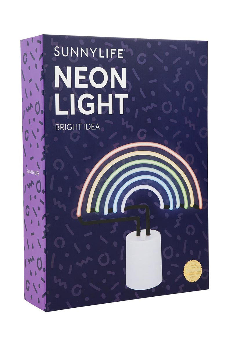 SUNNYLIFE Rainbow Neon Light Large Accessories | Sunnylife Rainbow Neon Light Large