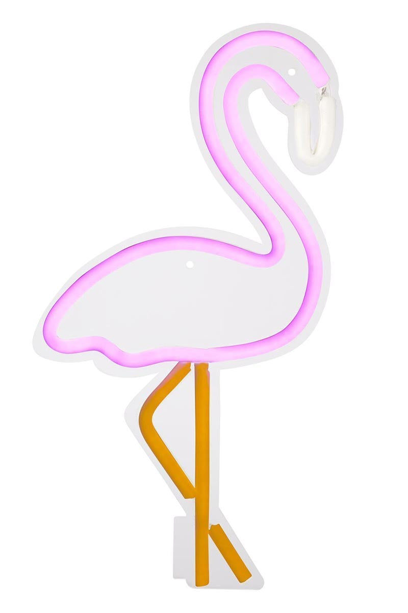 SUNNYLIFE Flamingo Neon LED Wall L USA Accessories | Flamingo Neon LED Wall L USA