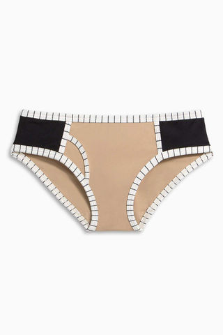 BOYS + ARROWS Knowles Hipster Bikini Bottom - Business Casual Bikini Bottom | Business Casual| Knowles Hipster Bikini Bottom - Business Casual
