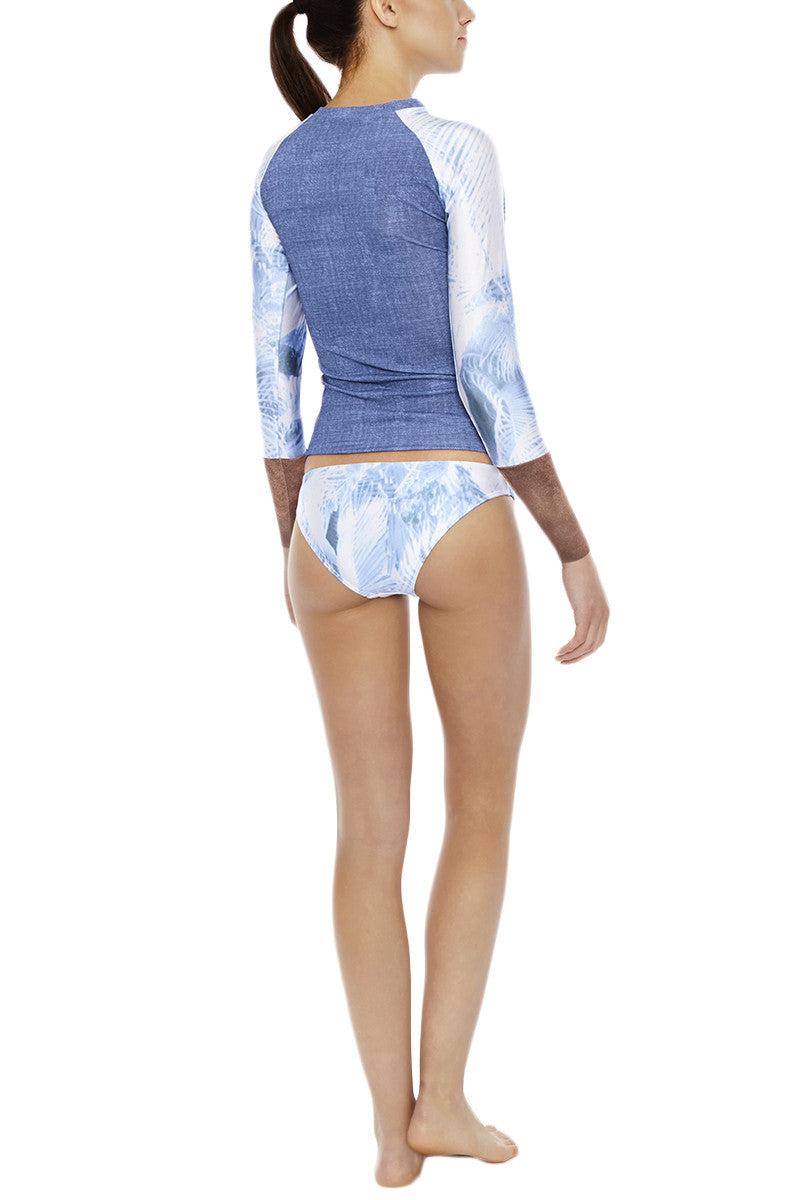 SEEA Salimar Low Rise Full Coverage Bikini Bottom - Palmera Print Bikini Bottom | Palmera| Seea Salimar Bikini Bottom