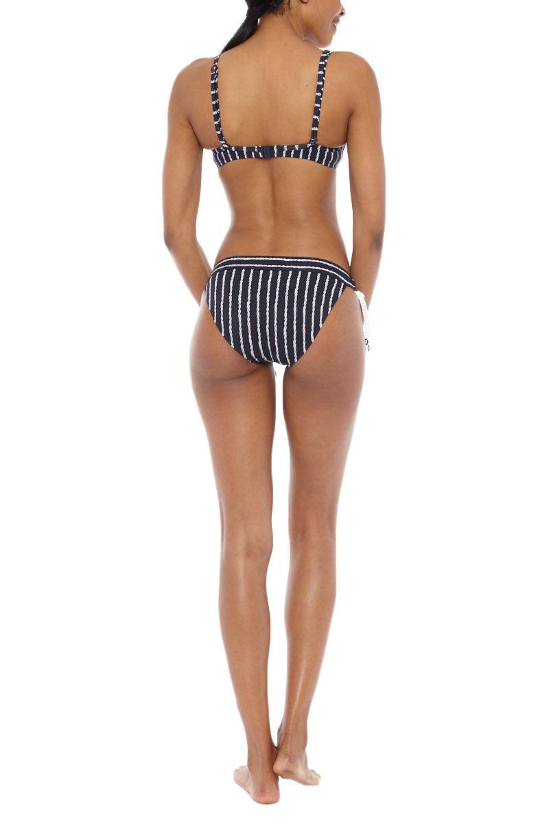 SEAFOLLY Coastline Tie Side Hipster Bikini Bottom - Indigo Bikini Bottom | Indigo| Seafolly Coastline Hipster Bikini Bottom