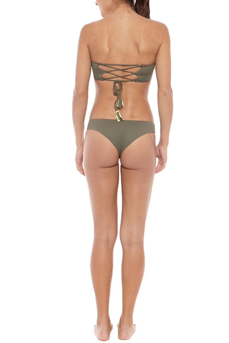 SERENDIPITY Batur Top Bikini Top | Khaki| Serendipity Batur Bandeau Top