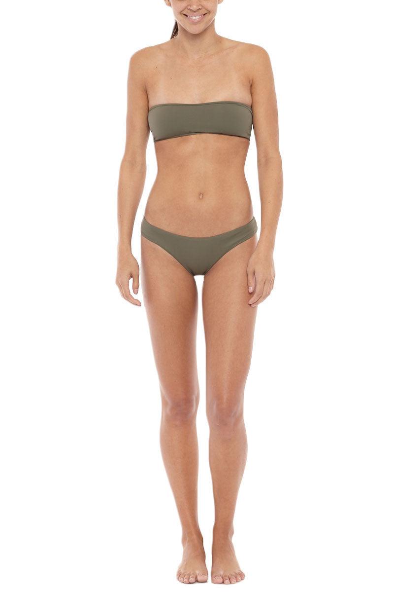 SERENDIPITY Neka Bottom Bikini Bottom | Khaki| Serendipity Neka Bikini Bottom