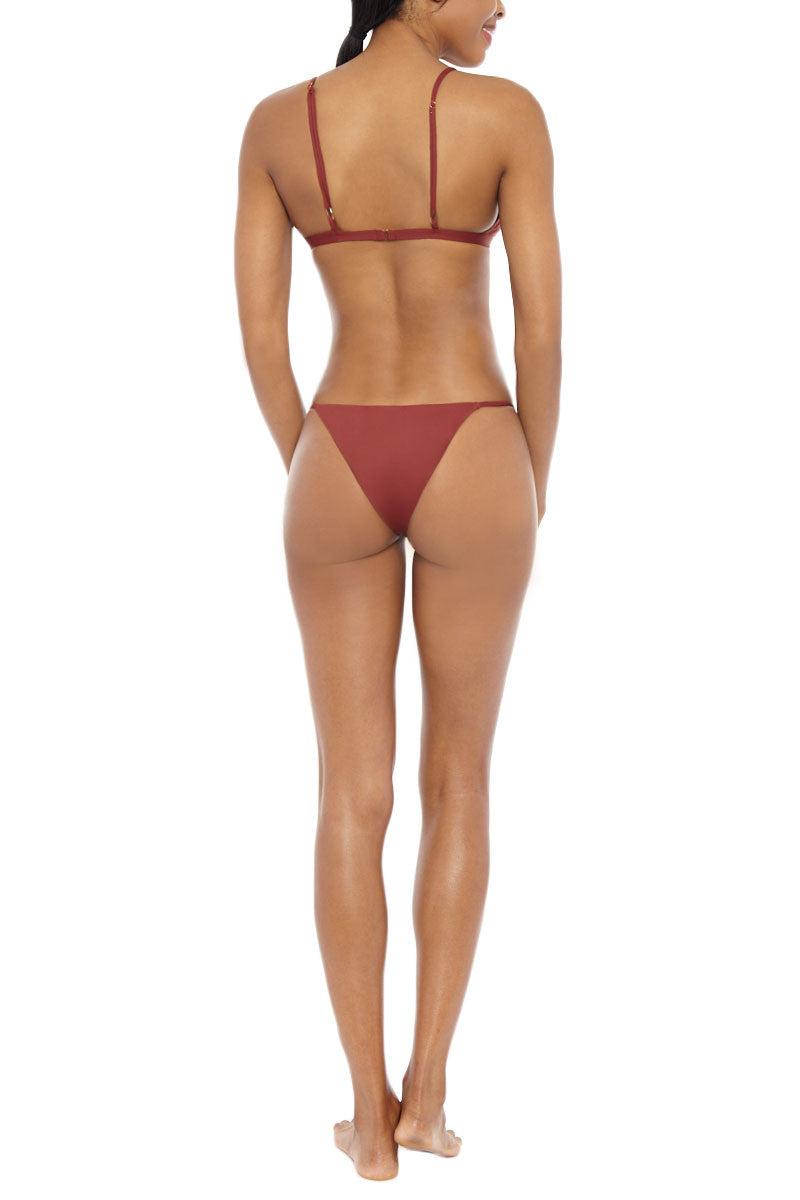 SERENDIPITY Boke Top Bikini Top | Rust| Serendipity Boke Bikini Top