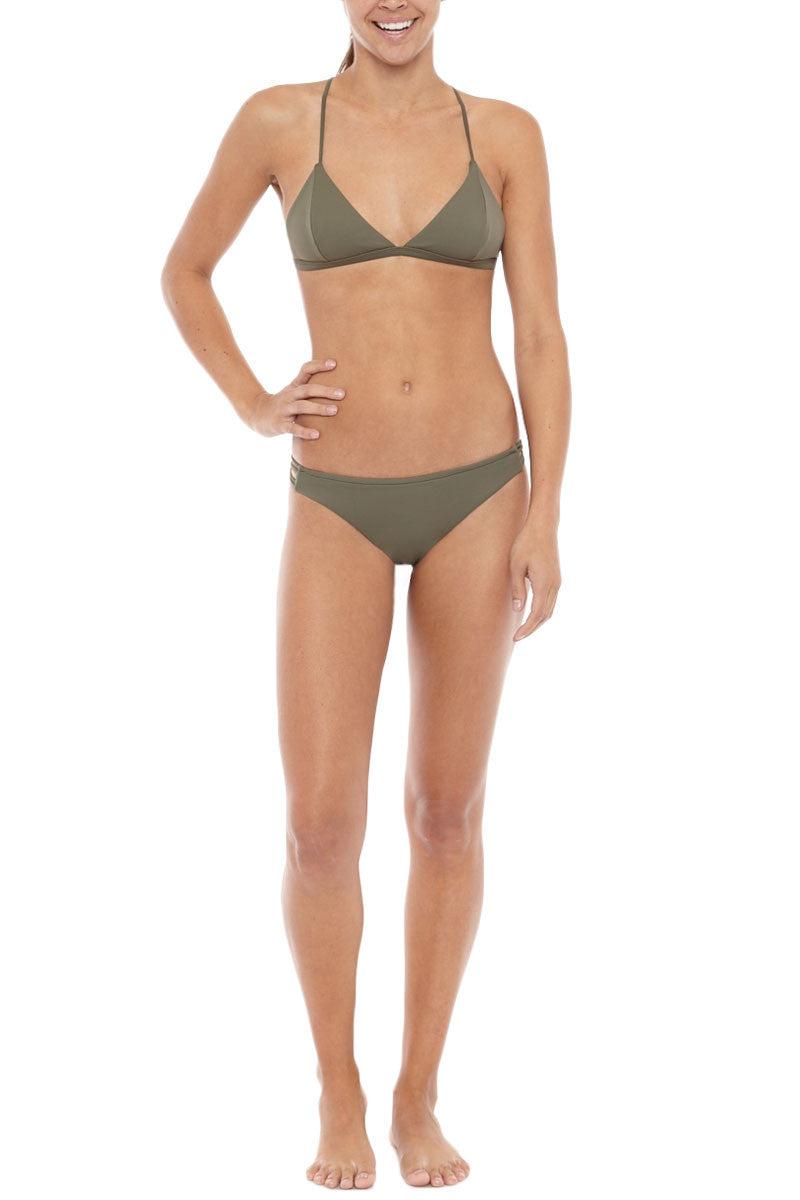 SERENDIPITY Dalem Top Bikini Top | Khaki| Serendipity Dalem Bikini Top