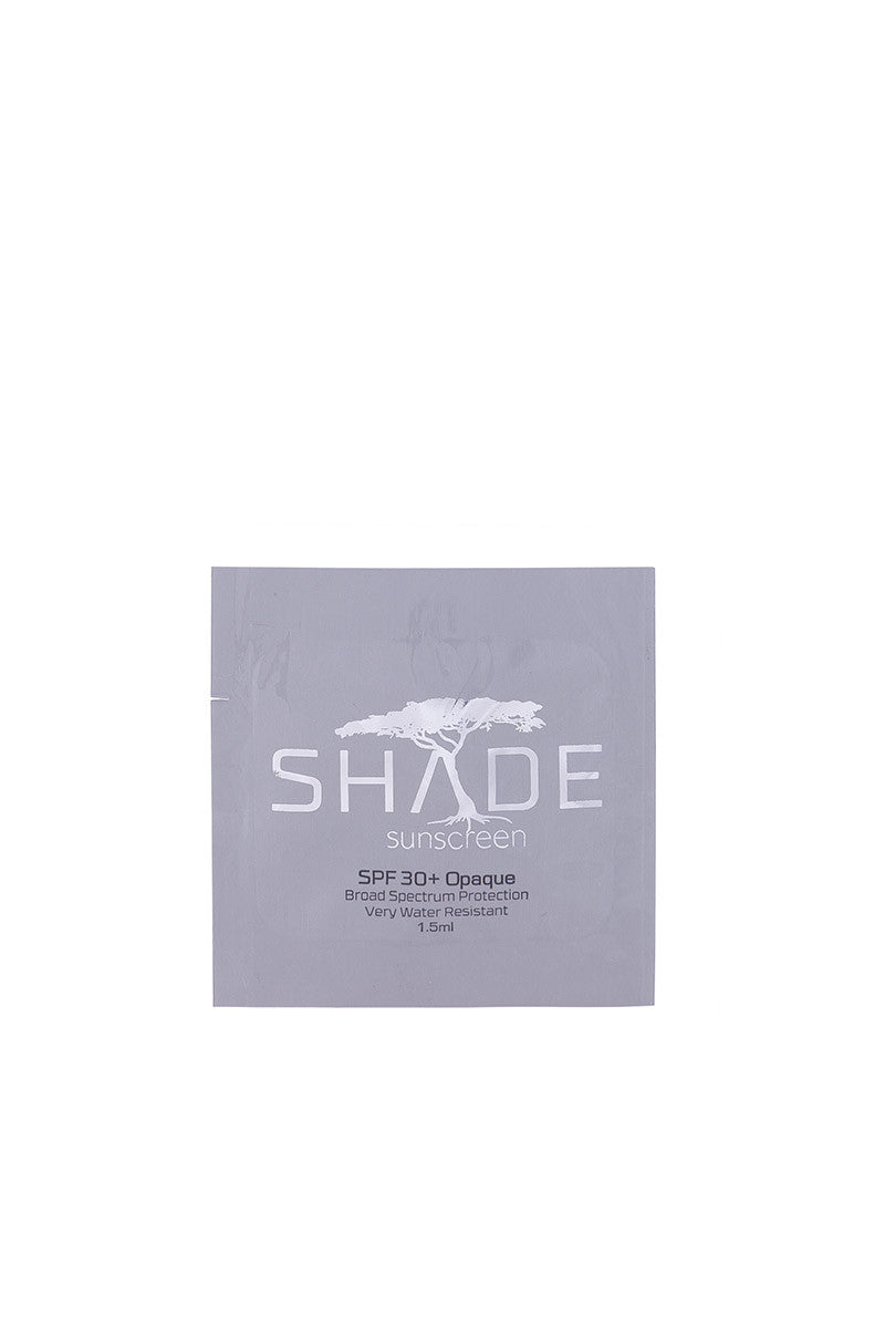 SHADE SPF30 Opaque Sunscreen Travel Packet Beauty | Opaque|