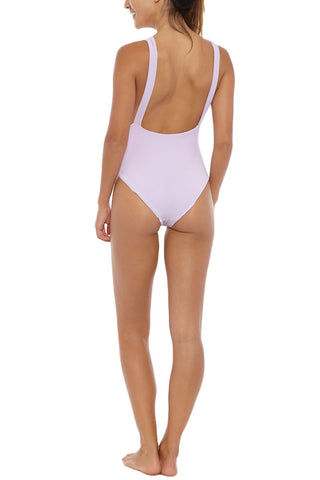 SKYE & STAGHORN Plunge Full Piece One Piece | Rhapsody Lilac| Skye & Staghorn Plunge Full One Piece