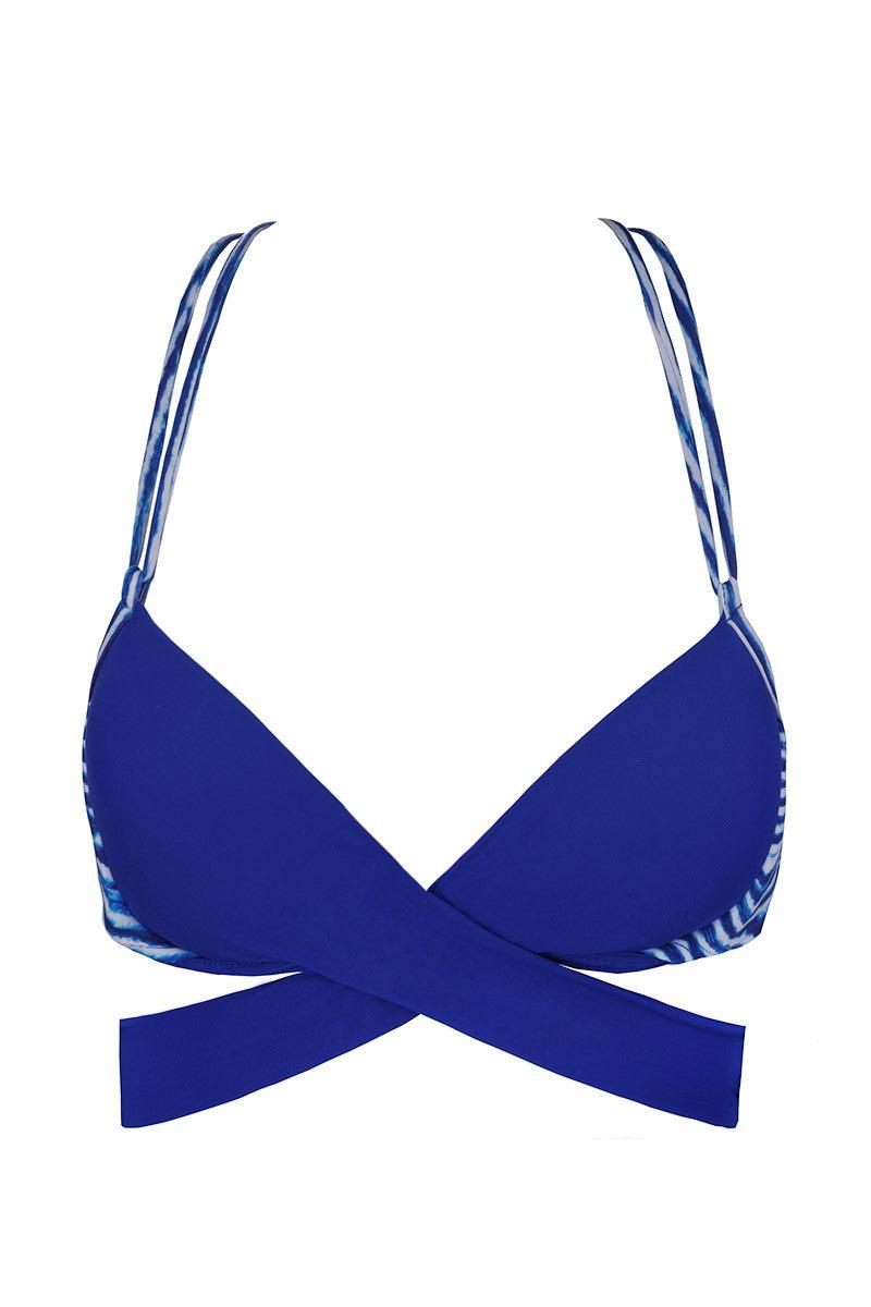 SOLKISSED Anita Top Bikini Top   Blue Lagoon  Solkissed Anita Bikini Top