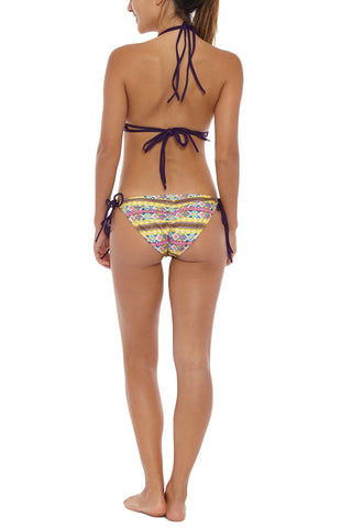 SOLKISSED Mancora Tie Side Moderate Bikini Bottom - Amarillo Bikini Bottom | Amarillo| Solkissed Mancora Full Bikini Bottom