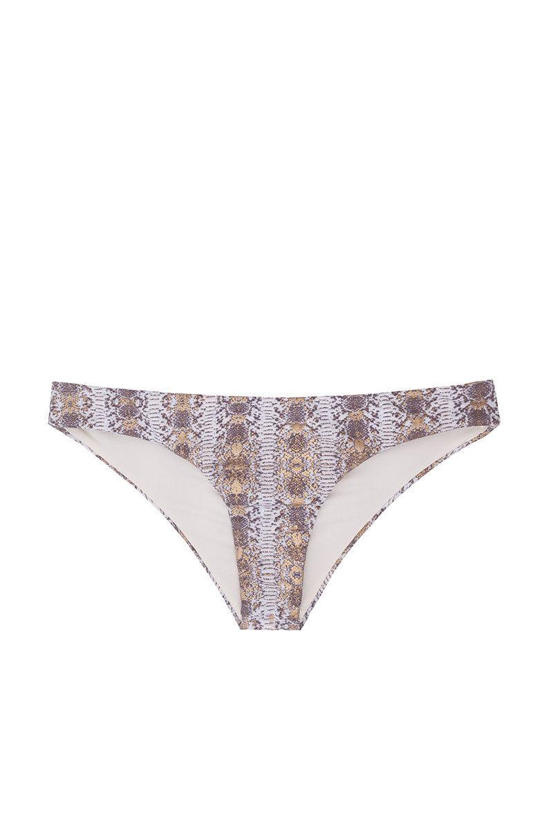SOLKISSED Kauai Brazilian Bottom Bikini Bottom | Gold Print|