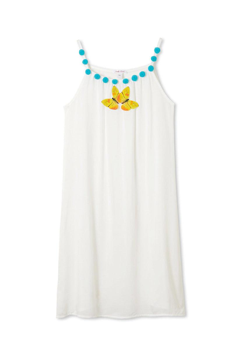 STELLA COVE White Butterfly Dress (Kids) Kids Resort | White Butterfly|White Butterfly Dress (Kids)