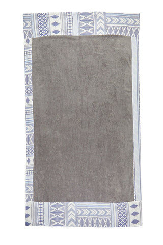 SUN OF A BEACH Caldera Towel Towel | Grey Print| Sun Of A Beach Caldera Beach Towel