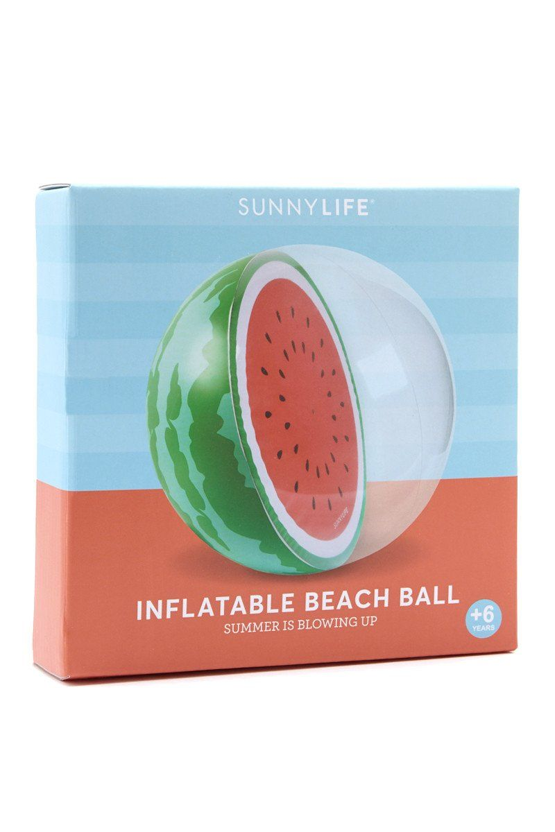 SUNNYLIFE Inflatable Watermelon Ball Pool Accessories | Watermelon| sunnylife inflatable watermelon ball
