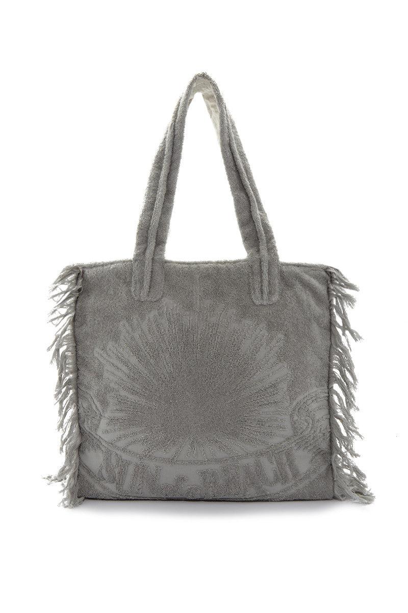 SUN OF A BEACH Just Silver Poly Bag Bag   Silver  Sun of a Beach Just Silver Poly Bag