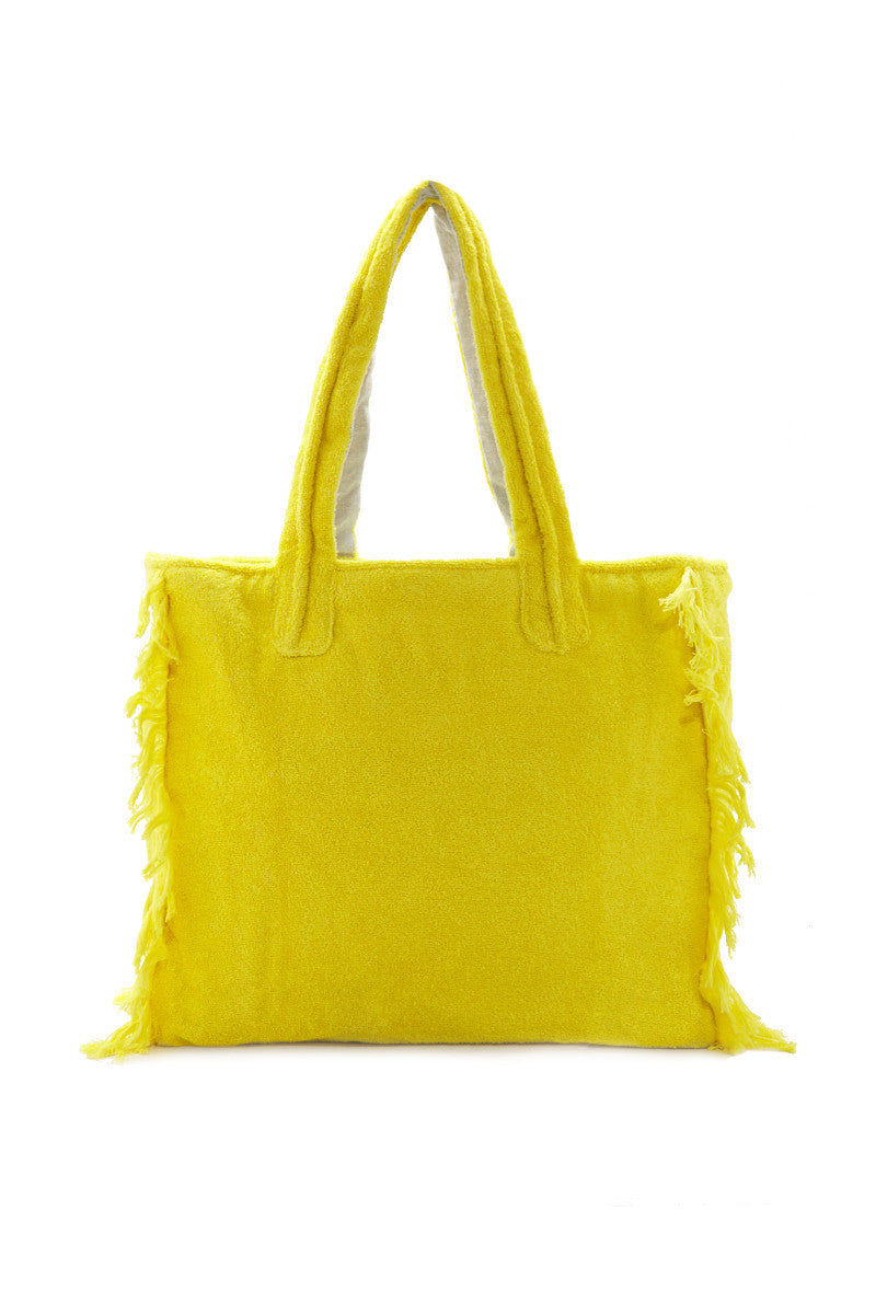 SUN OF A BEACH Just Sun Poly Bag Bag | Yellow| Sun of a Beach Just Sun Poly Bag