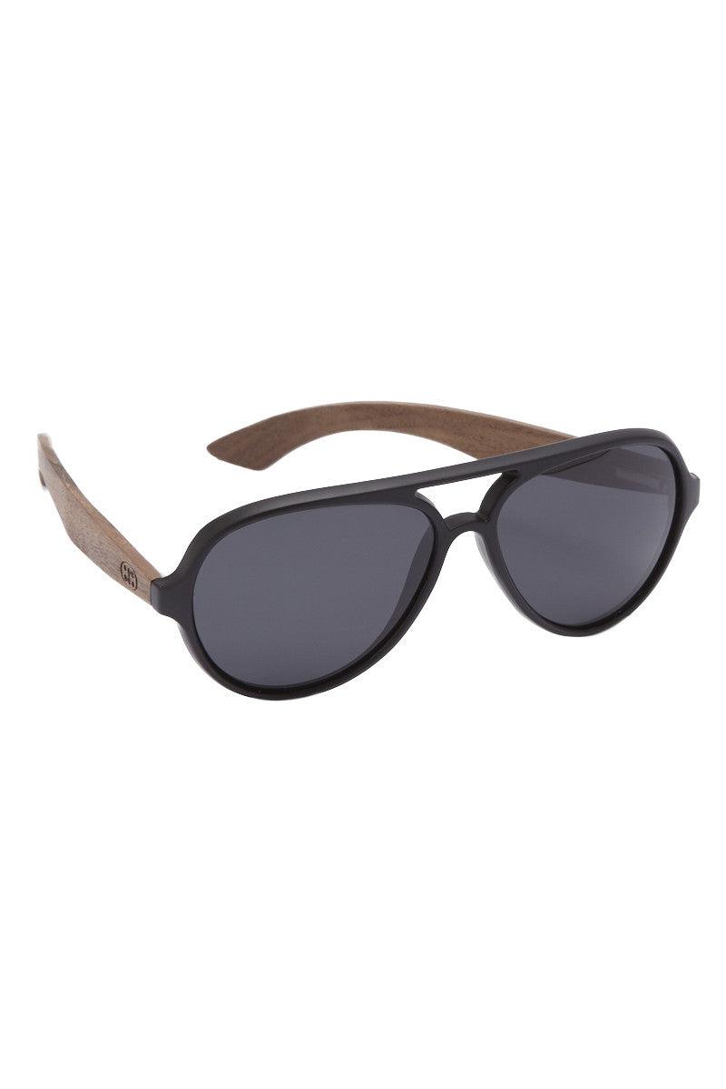 SURREAL SUNGLASSES Premium Walnut Wood Temple Sunglasses Sunglasses | Aviator| Surreal Sunglasses Premium Walnut Wood Temple Sunglasses