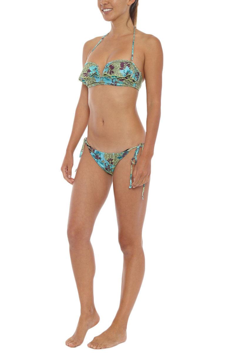 TALLOW Mudhoney Bandeau Bikini Top Bikini Top | Turquoise| Tallow Mudhoney Bandeau Bikini Top