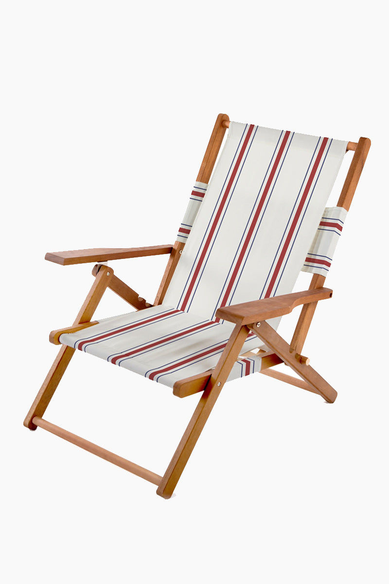 BUSINESS AND PLEASURE CO The Tommy Chair - French Stripe Home | French Stripe|
