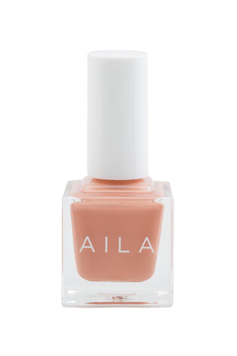 AILA COSMETICS Tiddlywink Tea Nail Polish Nails | Tiddlywink Tea| Aila Cosmetics Nail Polish Front View