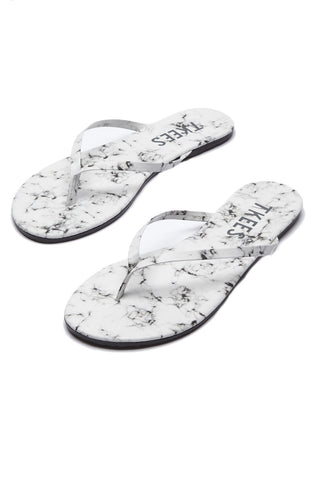 TKEES Marble Sandals Sandals | White Pepper| Tkees Marble Sandals