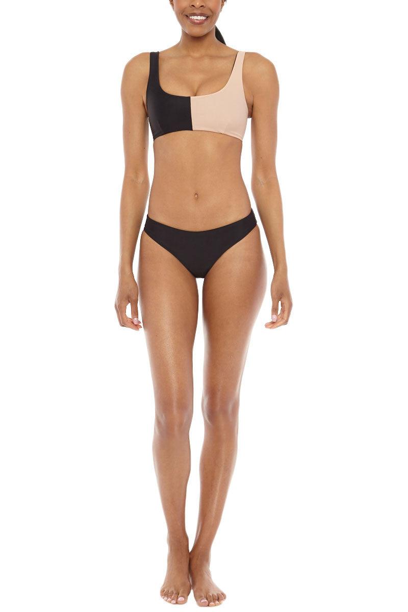 TORI PRAVER Cristina Bottom Bikini Bottom | Black| Tori Praver Cristina Bikini Bottom