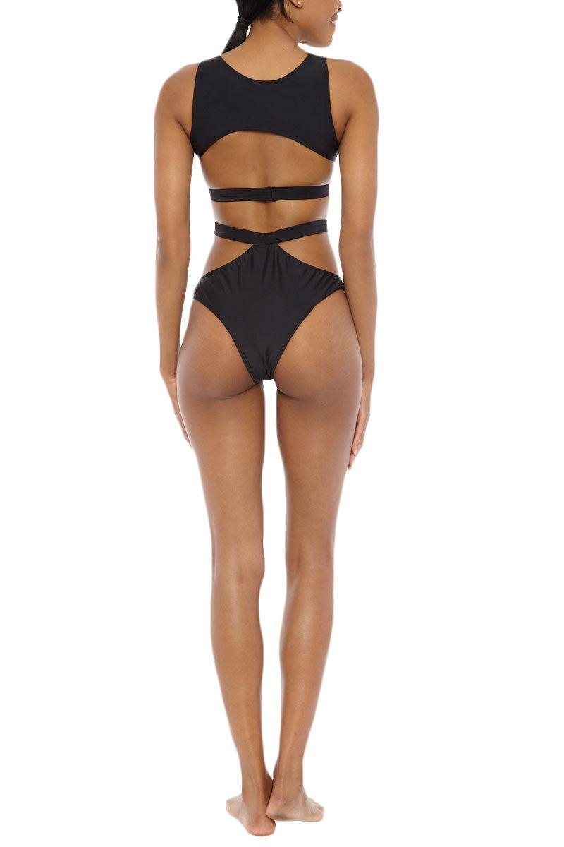 TOXIC SADIE Coquette Cut Out Sides Bikini Top - Black Bikini Top | Black| Toxic Sadie Toxic Sadie Coquette Cut Out Sides Bikini Top - Black