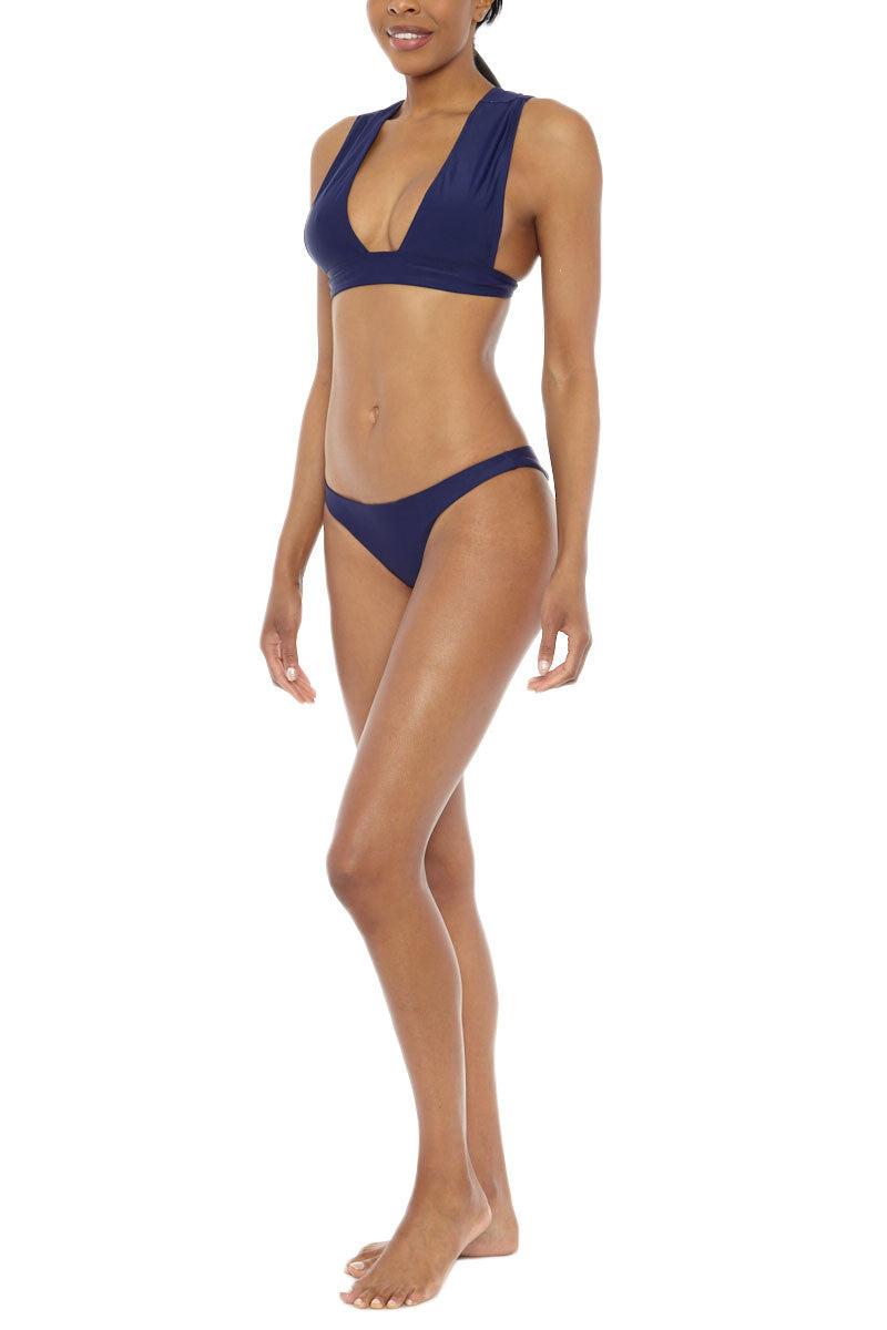 TOXIC SADIE Nymph Bottom Bikini Bottom | Navy| Toxic Sadie Nymph Bikini Bottom