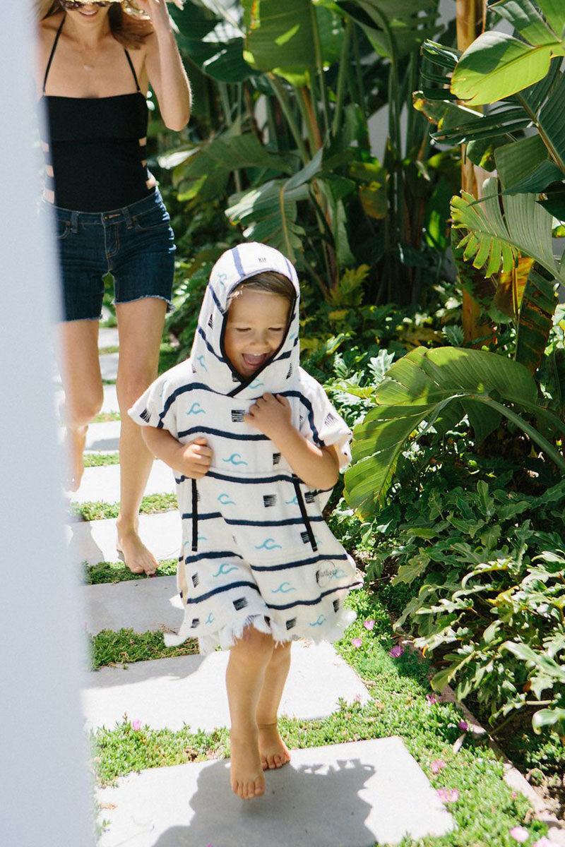 KINDHOOD Trestles Poncho (Kids) Kids Resort | Trestles | Kindhood Trestles Poncho