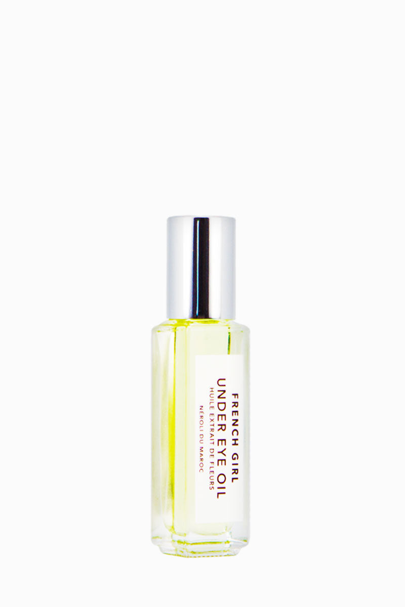 FRENCH GIRL ORGANICS Under Eye Oil - Néroli - 9 ml Beauty | Néroli| French Girl Organics Under Eye Oil - Neroli A gentle, anti-aging blend of essential oils to ease under-eye inflammation and eliminate fine lines Suitable for all skin types Front View