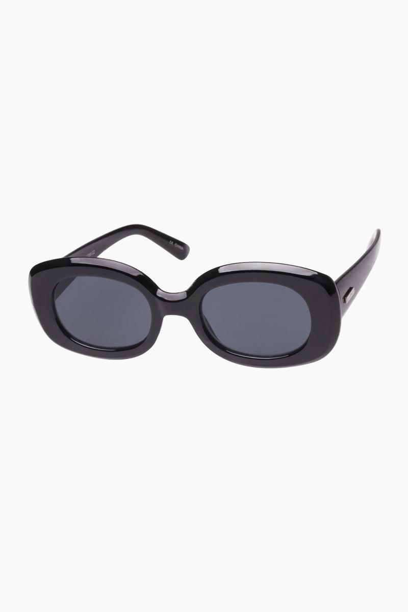 MINKPINK SUNGLASSES Untouchable Sunglasses - Black Sunglasses | Untouchable - Black | Minkpink Sunglasses Untouchable - Black Side View