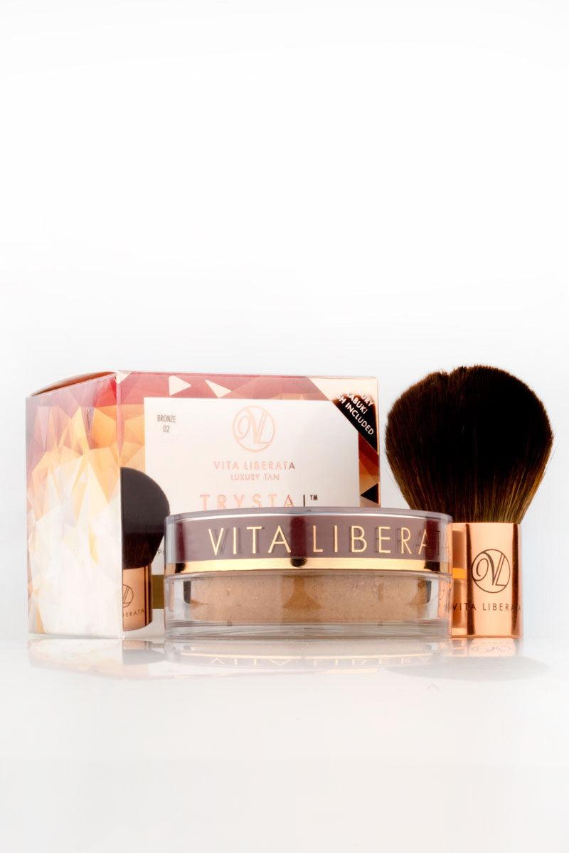 VITA LIBERATA Trystal Minerals Self Tanning Bronzing Mineral Powder Beauty | Bronze|