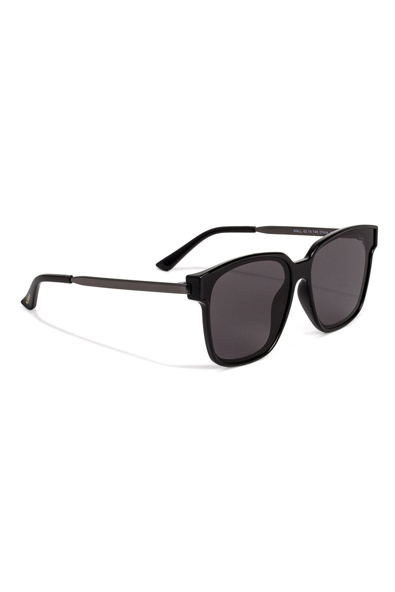 BONNIE CLYDE The Wall Sunglasses - Boombox Brigade Sunglasses | Boombox Brigade| The Wall Sunglasses: BoomBox Brigade. Features: This style goes perfectly well with round and oval faces. Unisexual. 100% UV Protection. Glare reduction. Scratch-resistant coating