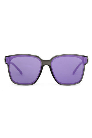 BONNIE CLYDE The Wall Sunglasses - Violet Ends Sunglasses | Violet Ends| The Wall Sunglasses: Violet Ends. Features: This style goes perfectly well with round and oval faces. Unisexual. 100% UV Protection. Glare reduction. Scratch-resistant coating