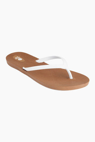415d18066 THIRD OAK Scout Toffee Sole Sandals - White