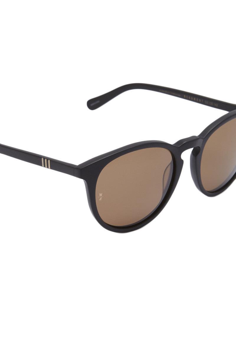 WONDERLAND SUNGLASSES Beaumont Sunglasses - Matte Black/Bronze Sunglasses | Matte Black/Bronze| Beumont Wonderland Sunglasses