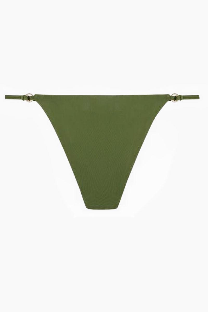 FELLA Xavier Bottom - Olive Bikini Bottom   Olive   Fella Xavier Bottom - Olive back view