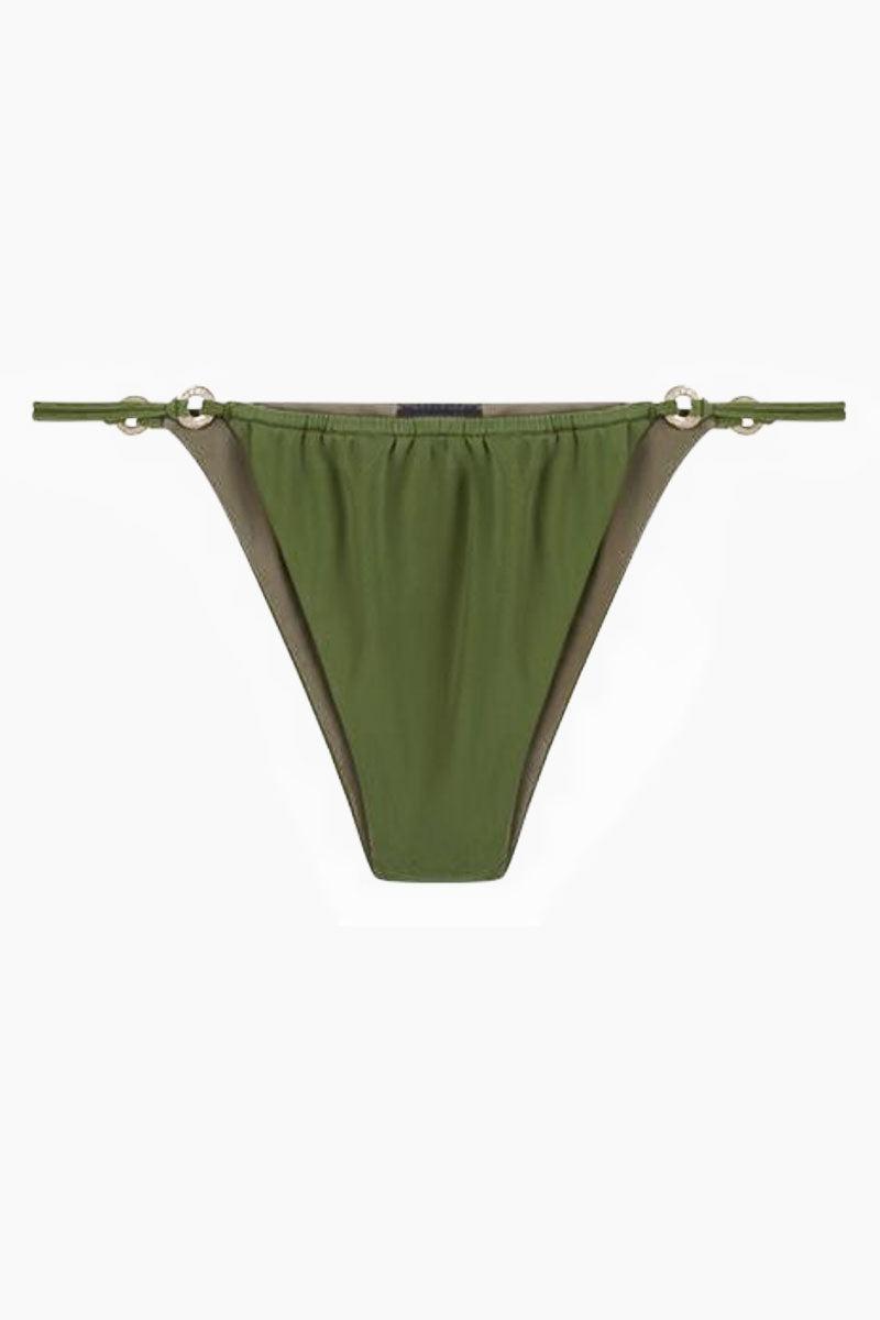 FELLA Xavier Bottom - Olive Bikini Bottom   Olive   Fella Xavier Bottom - Olive front view