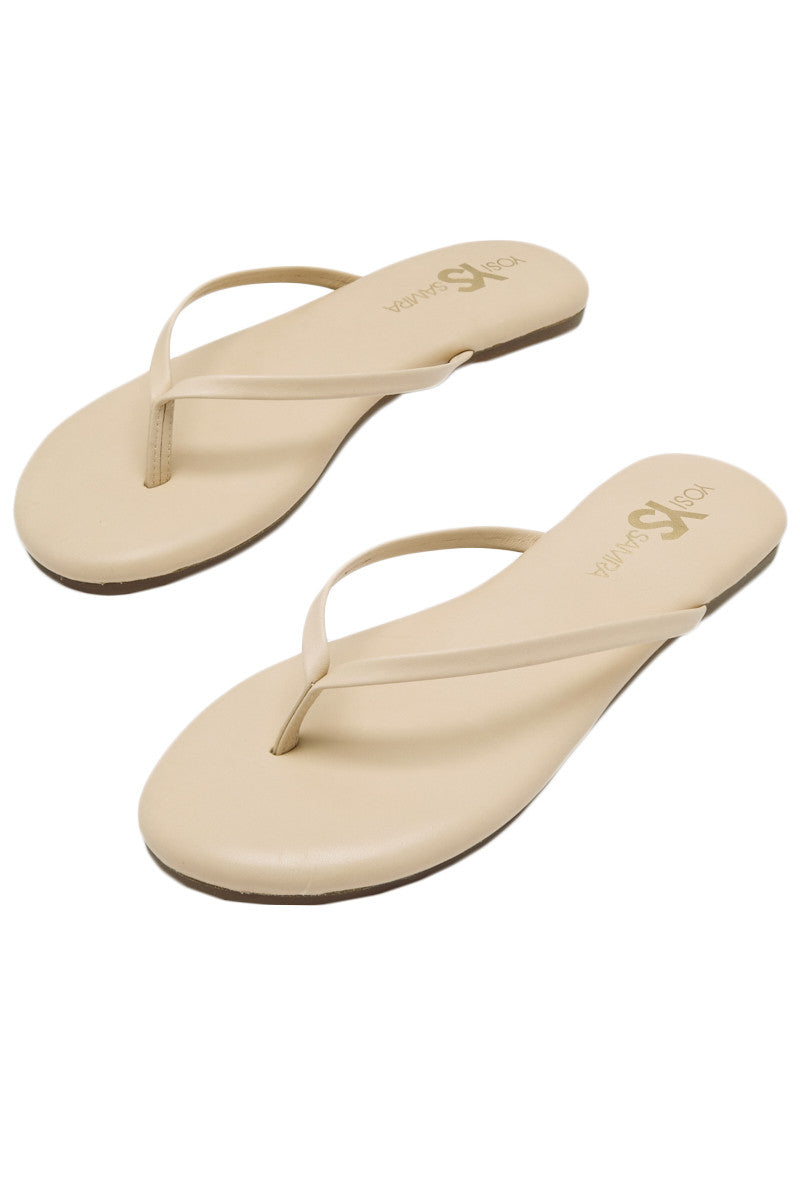 YOSI SAMRA Roee Sandals in Nude Sandals | Nude| Yoshi Roee Sandals
