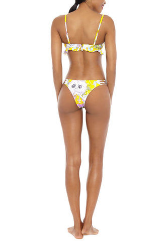 YUMI KIM Pool Party Bikini Top Bikini Top | Bora Bora Yellow| Yumi Kim Pool Party Bikini Top
