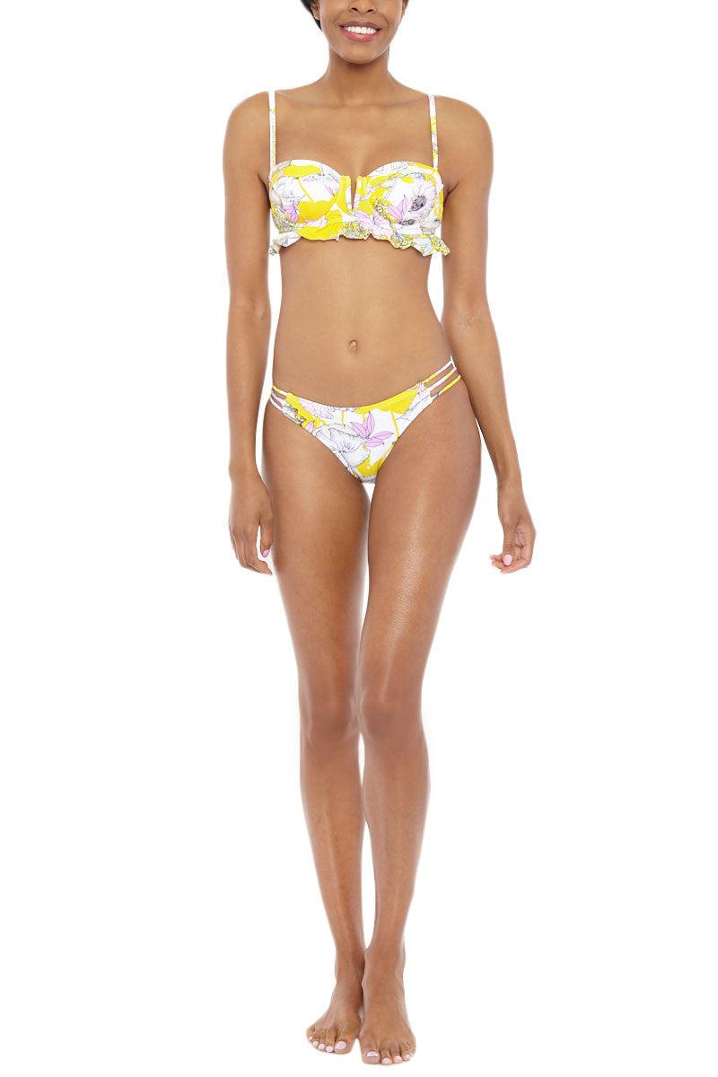 YUMI KIM Ocean Drive Bikini Bottom Bikini Bottom | Bora Bora Yellow| Yumi Kim Ocean Drive Bikini Bottom
