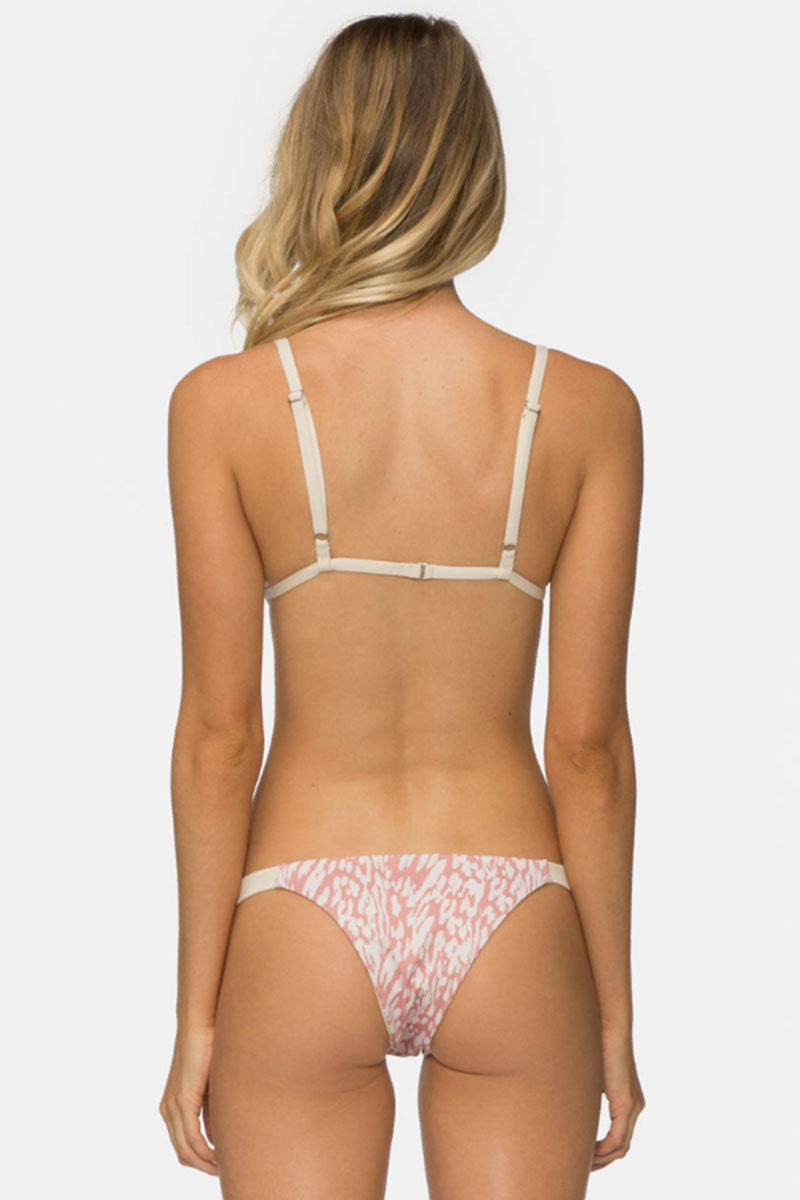 TAVIK Zeppelin Top Bikini Top | Rose Dawn Mahiki Animal| TAVIK Zepplin Bikini Top