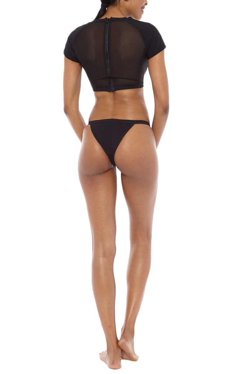 ZIGILANE Ride or Die Bottom Bikini Bottom | Black| Zigilane Ride or Die Bikini Bottom