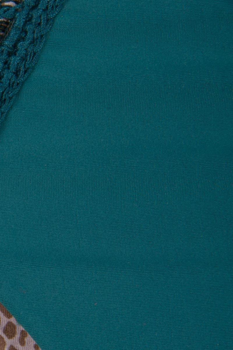 ACACIA Chuns Crochet Brazilian Bikini Bottom - Seaweed Bikini Bottom | Seaweed|