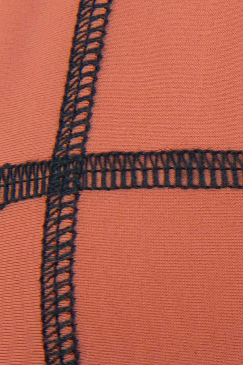 ACACIA Stitched Humuhumu Top - Stitched Li Hing Mui Bikini Top | Stitched Li Hing Mui|