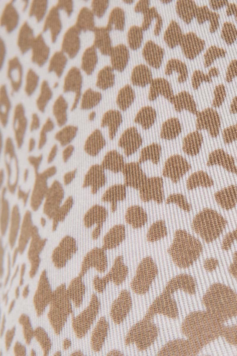 ACACIA Na Pali Top - Snake Lining Beige Bikini Top | Snake Lining| Acacia Na Pali Bikini Top Close Up
