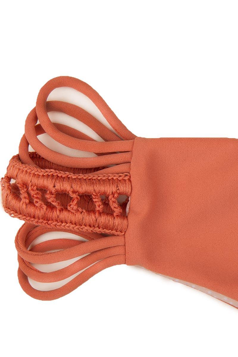 ACACIA Pikake Bottom Bikini Bottom | Papaya|