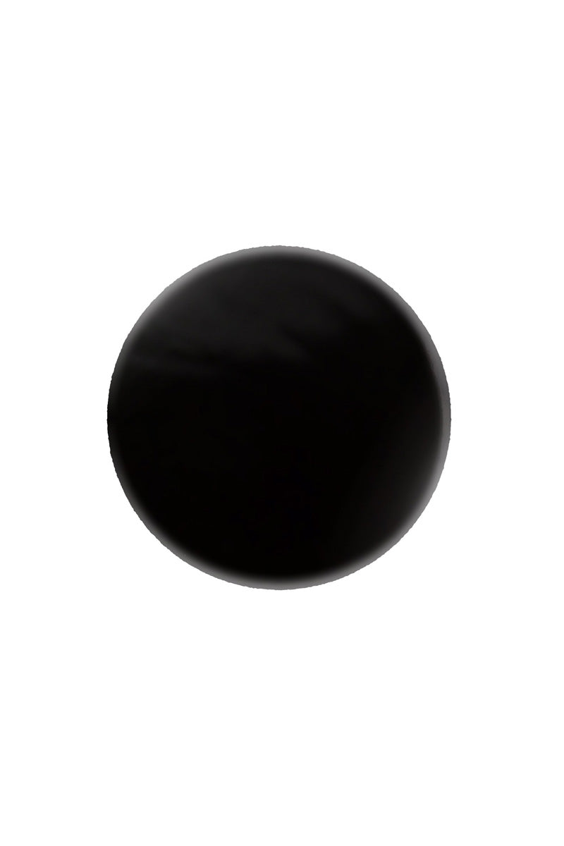 AILA COSMETICS Nail Polish - House of Paine Black Nails | House of Paine Black| Aila Cosmetics Nail Polish - House of Paine Black Chip-resistant non-toxic shiny nail lacquer in true, classic black color. The long-lasting nail polish is vegan, cruelty-free, gluten-free, and made without parabens, sulfates, formaldehyde, and all other toxins traditionally found in nail care products. Front View